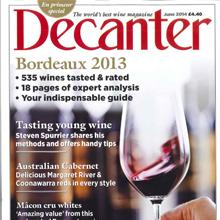 Decanter Juin 2014