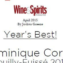 Wine Spirit Avril 2015